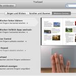 Drei Finger Swipe für Safari unter Mac OSX Lion
